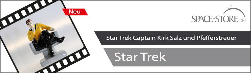 Captain Kirk Salz und Pfefferstreuer