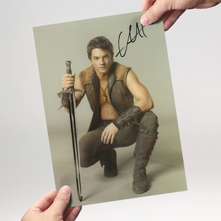 Craig Horner 1 aus Legend of the Seeker - Originalautogramm mit Echtheitszertifikat