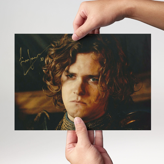 Finn Jones 4 Game of Thrones - Originalautogramm mit Echtheitszertifikat