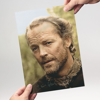 Iain Glen1 aus Game of Thrones - Originalautogramm mit Echtheitszertifikat