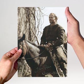 Iain Glen 2 aus Game of Thrones - Originalautogramm mit Echtheitszertifikat