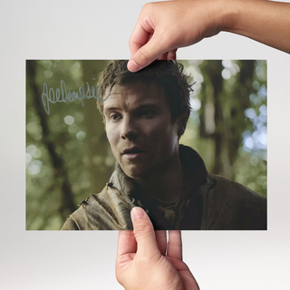 Joe Dempsie 2 Game of Thrones - Originalautogramm mit Echtheitszertifikat