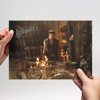 Joe Dempsie 3 Game of Thrones - Originalautogramm mit Echtheitszertifikat