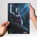 Kristin Bauer 3 - True Blood - Originalautogramm mit...
