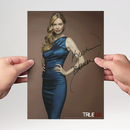 Kristin Bauer 4 - True Blood - Originalautogramm mit...