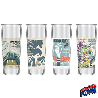 Star Trek Shot Glasses Set 4