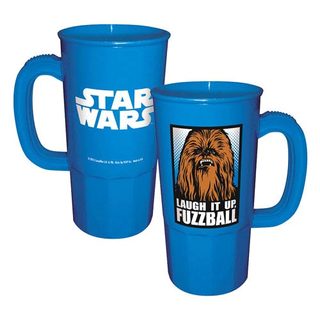 Star Wars Plastiktrinkbecher Chewbacca blau