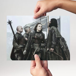 Gemma Whelan 6 aus Game of Thrones - Originalautogramm mit Echtheitszertifikat