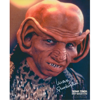 Max Grodenchik 1 - Star Trek Deep Space Nine - Originalautogramm mit Echtheitszertifikat