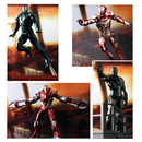 Marvel Iron Man 3 Battlefield Collection Bausatz 4er Set