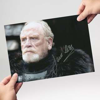 James Cosmo Motiv 3 Jeor Mormont aus Games of Thrones - Originalautogramm mit Echtheitszertifikat