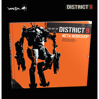 Weta Art of District 9 Buch