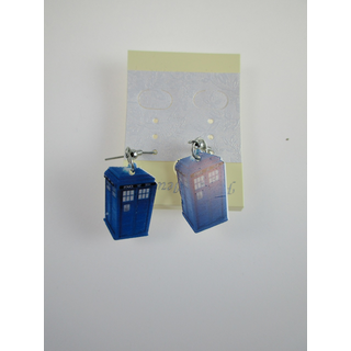 Dr.Who Tardis Ohrringe