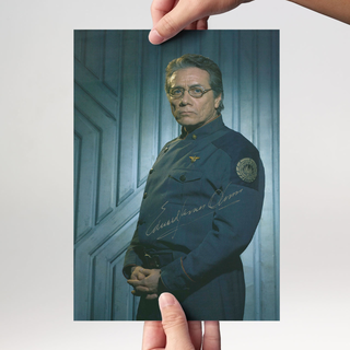 Edward James Olmos 1 - Battle Star Galactica - Originalautogramm mit Echtheitszertifikat