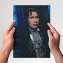 Paul McGann 3 aus Dr. Who - Originalautogramm mit...