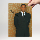 Tim Russ 4 - Star Trek Voyager Tuvok - Originalautogramm...