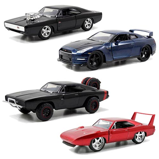 Fast and Furious Die-Cast Auto Set 4teilig
