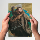 Stephen Hunter 1 - Hobbit Bombur - Originalautogramm mit...