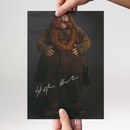 Stephen Hunter 2 - Hobbit Bombur - Originalautogramm mit...