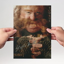 Stephen Hunter 3 - Hobbit Bombur - Originalautogramm mit...