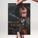 William Kircher 1 - Hobbit Bifur - Originalautogramm mit...