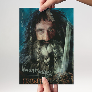 William Kircher 2 - Hobbit Bifur - Originalautogramm mit Echtheitszertifikat