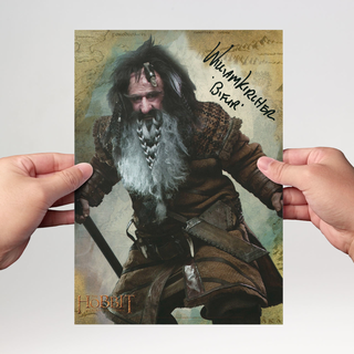 William Kircher 3 - Hobbit Bifur - Originalautogramm mit Echtheitszertifikat