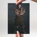 Graham McTavish 2 - Hobbit Dwalin - Originalautogramm mit...