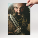 Graham McTavish 4 - Hobbit Dwalin - Originalautogramm mit...