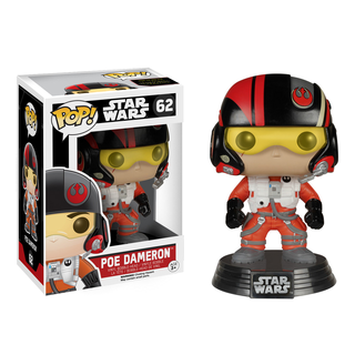 Funko Pop! Star Wars The Force Awakens Poe Dameron 62