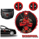 Marvel Deadpool Autoaufkleber