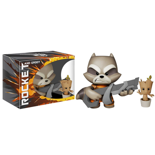 Funko Pop! Guardians of the Galaxy - Rocket and Groot Super Deluxe