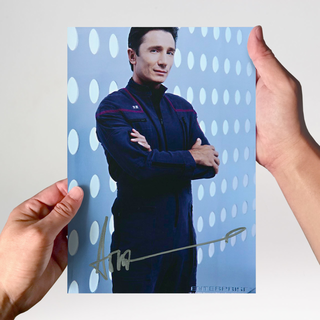 Dominic Keating 2 - Star Trek Enterprise - Originalautogramm mit Echtheitszertifikat