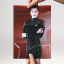 Autogramm Terry Farrell 3 - Star Trek DS9 Dax signiert in...