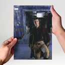 Nathan Fillion 2 - Castle - Originalautogramm mit...