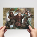 Adam Brown, Mark Hadlow, Jed Brophy - Hobbit -...
