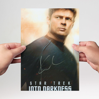 Karl Urban 4 - Star Trek, Judge Dread, LotR - Originalautogramm mit Echtheitszertifikat