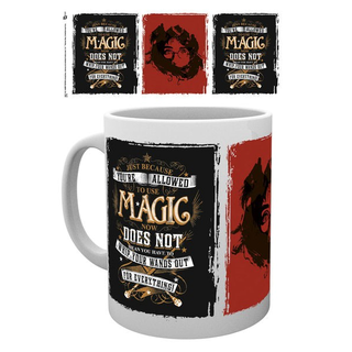 Harry Potter Tasse Whip Your Wand Out
