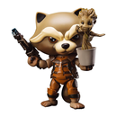 Rocket Raccoon mit Dancing Groot aus Guardians of the...