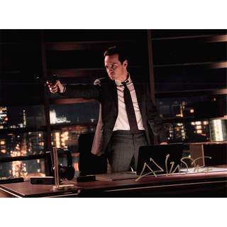 Andrew Scott - James Bond - Originalautogramm mit Echtheitszertifikat