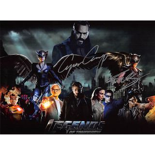 Falk Hentschel u. Caspar Crump - Legends of Tomorrow - Originalautogramm mit Echtheitszertifikat