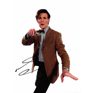 Matt Smith 16, Dr. Who - Originalautogramm mit Echtheitszertifikat