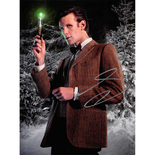 Matt Smith 14, Dr. Who - Originalautogramm mit Echtheitszertifikat
