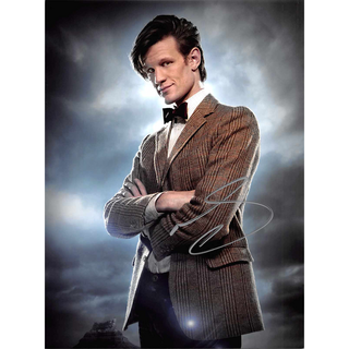 Matt Smith 11, Dr. Who - Originalautogramm mit Echtheitszertifikat
