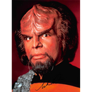 Michael Dorn 4 - Star Trek The Next Generation Worf -...