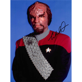 Michael Dorn 5 - Star Trek The Next Generation Worf - Originalautogramm mit Echtheitszertifikat