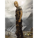 Ricky Whittle - The 100 - Originalautogramm mit...