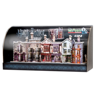 Harry Potter Built-Up Demo 3D Puzzle mit Display Case Winkelgasse