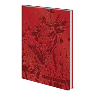 Deadpool Flexi-Cover Notizbuch A5 Action