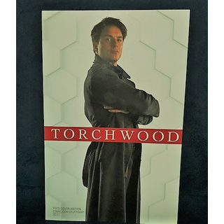 Torchwood Comic Welt ohne Ende Foto Cover Edition Comic Con Stuttgart Limitiert